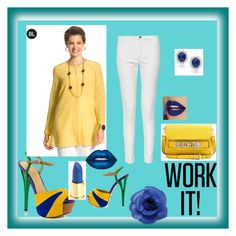 """""""My work day"""" by elma-kikic ❤ liked on Polyvore featuring GX, Proenza Schouler, Chico's, Chanel, Bling Jewelry, French Connection and Lime Crime"""