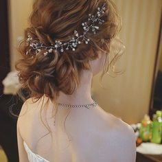 Wedding Hairstyles Updo 17 Of The Marvelous Wedding Updo Hairstyles 2019 With Head Piece to Mesmerize Any One - 17 Of The Marvelous Wedding Updo Hairstyles 2019 With Head Piece to Mesmerize Any One Bridal Hairdo, Hairdo Wedding, Wedding Hair And Makeup, Hair Makeup, Fancy Hairstyles, Bride Hairstyles, Beautiful Hairstyles, Casual Hairstyles, Hair Arrange