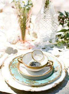 wedding favor as place card