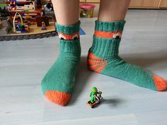 Ravelry: inkic's Teenage Mutant Turtle-socks