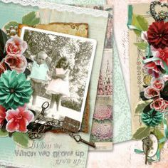 Layout using Days Gone By { Bundle } Collab by Aimee  Harrison Designs and The Urban Fairy #theurbanfairy
