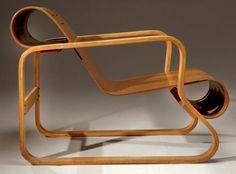 Fauteuil design Paimio Alvar Aalto