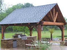 build an outdoor pavillion - Google Search