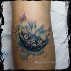 #tattoo #tatuaggio #cheyennehawk #cheyenne #thunder #spirit #cheyennepen #tattooartist #tattoogirl #suicide #girl #inkedgirl #tattooing #watercolor #watercolorpaint #cheshire #stregatto #alice #aliceinwonderland