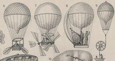 Paleofuture - Paleofuture Blog - Flying Machines (circa1885)
