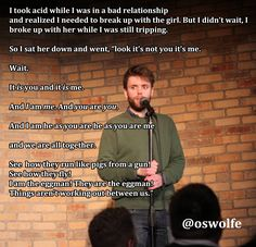 22 Nuggets of Stand Up Comedy Gold - Gallery | eBaum's World