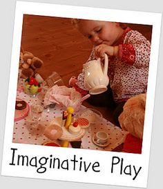 Imaginative Play ideas. Lots of pictures and instructions for making things for imaginative play.