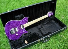 Eddie-Van-Halen's-Ernie-Ball-Music-Man-EVH-Model-Purple.jpg (700×500)  Visit Contrast Control to find great content for all types of music lovers. http://www.contrastcontrol.net
