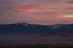Point 6 Pink Missoula, Montana  © Mark Mesenko