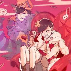 Osomatsu-san- Osomatsu and Ichimatsu #Anime「♡」Wonderland