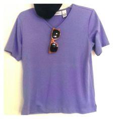 Shirt Soft (60% cotton, 40% polyester), mini slits at hem, v-neck The TOG Shop Tops Tees - Short Sleeve