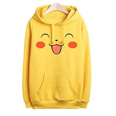 adult Pokemon Pikachu Printed Fleece Yellow Hoodie (L(women), 3) HP-LEISURE http://www.amazon.com/dp/B00OPNKNZ0/ref=cm_sw_r_pi_dp_6Ylywb0TDQ4V8