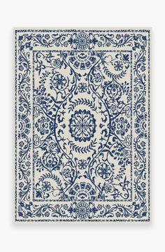 Delphina Delft Blue Rug [Sharing a few rugs options from Ruggable that you'll be able to toss in washer] Coral Rug, Navy Rug, Yellow Rug, Blue And White Rug, Black Rug, White Rugs, White Sofas, Delft, Ancient Greek City