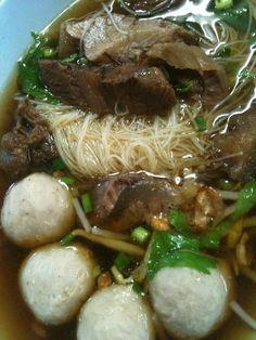 Thai Style Beef Noodle Soup
