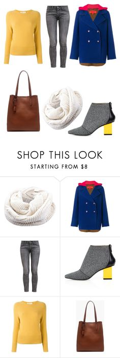 """Simple Set #5"" by peacock-style ❤ liked on Polyvore featuring Hilfiger Collection, Levi's, Kim Kwang, Zanone and J.Crew"
