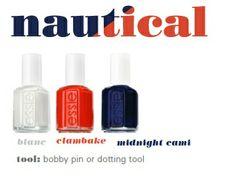 'blanc', 'clambake' and 'midnight cami' #essielook #nautical