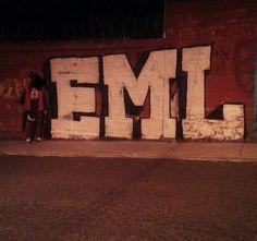 EML #Crew de #GraffitiQueretaro #Graffiti #GraffitiMexico