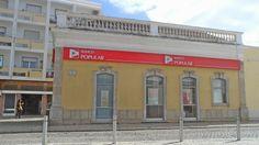 Balcão Banco Popular em Olhão no Algarve