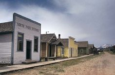 South Park City, Colorado - ghost town, living museum.  2 hours south west of Denver by breckenridge