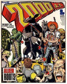 A cover gallery for the comic book Judge Dredd - 2000 AD Comic Book Artists, Comic Books Art, Dredd Movie, 2000ad Comic, Comic Art Community, Judge Dredd, Sci Fi Books, Horror Comics, Classic Comics