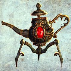 Eye pots from Alice The Madness Returns