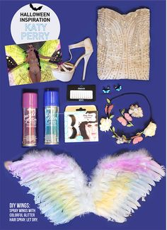 Try I Spy DIY's tips on being Katy Perry for Halloween!