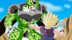 """DragonBall Z - Teen Gohan SSJ2 Vs Cell Get's KO""""ed (Fan Animation) Origi..."""