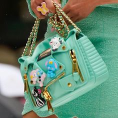 "Moschino on Instagram: ""Moschino SS22 bags #moschino @jeremyscott #moschinofashionshow #nyfw #fashionweek"" Shoulder Bag, Moschino, Bucket Bag, Bags, Shower, Instagram, Style, Fashion, Handbags"