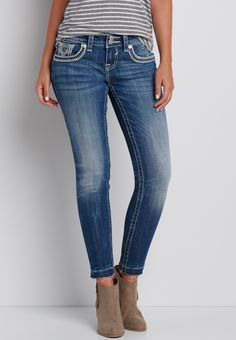 Vigoss® ankle jegging with released bottom hem#wishpinwinsweepstakes #discovermaurices