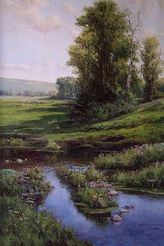 Morning Stream - Joan Colomer