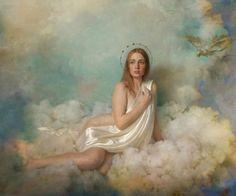 Twinkle Twinkle Little Star, Renaissance Art, Cupid, Fine Art Photography, Venus, Headpiece, Mythology, Artwork, Model