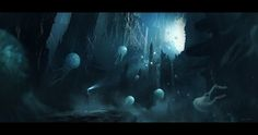 Cave, Juan Pablo Roldan on ArtStation at http://www.artstation.com/artwork/cave-4d9ab9e2-5edc-4136-9e55-668cea32d36a