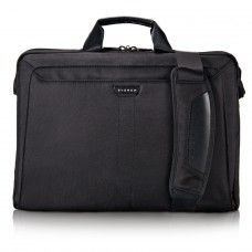 Everki EKB417BK18 Lunar Laptop Briefcase up to 18.4 Inch from justIT.co.za Laptop Briefcase, Black Exterior, High Contrast, Business Travel, Peace Of Mind, Macbook Air, Shoulder Pads, Leather Handle, Carry On