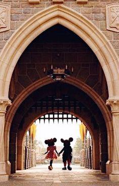 Mickey ♥ Minnie at Disneyland (saw them at Disney world in Orlando, Fl quite a few years ago) Disney Dream, Disney Fun, Disney Trips, Disney Magic, Walt Disney World, Magic Kingdom, Chateau Disney, Disneysea Tokyo, Disney Parque