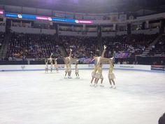 UPLIFTING! Miami University at 2013 Worlds Synchronized Skating Championships.