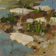"Daily Paintworks - ""Rocks Rock"" - Original Fine Art for Sale - © Carol Marine"