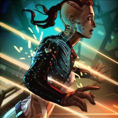 Mass Effect Jack, Mass Effect Games, Thane Krios, Mass Effect Characters, Mass Effect Universe, Fandom Games, Star Force, Critical Role Fan Art, Samurai Art