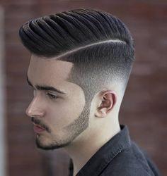 Young Men Haircuts, Young Mens Hairstyles, Mens Hairstyles Pompadour, Men's Haircuts, Men's Hairstyles, Hipster Hairstyles Men, Cool Mens Haircuts, Beard Haircut, Fade Haircut