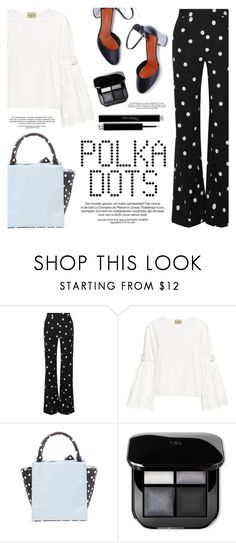 Polka dots! by helenevlacho on Polyvore featuring Sea, New York, Monse, Betsey Johnson, Christian Dior, PolkaDots and contestentry