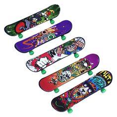 2016 Hot Sale Finger Board Deck Mini Skateboard Boy Kid Children Finderboard Toy Gift Drop Shipping
