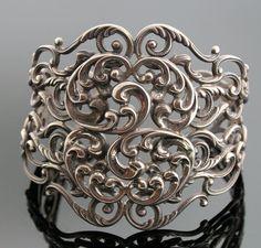Vintage Cuff | Danecraft.  Sterling silver.