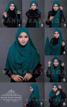 Looking for ideas on how to wear hijab elegantly? Or just a Simple Hijab Tutorial? Or perhaps you want tips to style hijab for a beautiful look? Well, we understand that Hijab fashion is at its peak these days. Square Hijab Tutorial, Simple Hijab Tutorial, Hijab Style Tutorial, Scarf Tutorial, Muslim Women Fashion, Modern Hijab Fashion, Islamic Fashion, Stylish Hijab, Hijab Chic