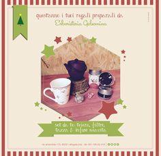 Set da te: teiera, filtro,  tazza & infuso Neavita