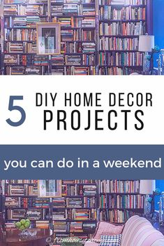 DIY home decor projects that are easy to do and you can order all of the supplies online. Updating your house is a great way to fill time if you're looking for things to do when bored at home. #fromhousetohome #homedecor #diy #diydecorating  #diyhomedecor Diy Home Decor On A Budget, Diy Home Decor Projects, Rooms Home Decor, Decorating On A Budget, Ceiling Decor, Diy Wall Decor, Make Your Own Stencils, Faux Panels, Bored At Home