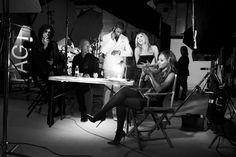 Mel B and Heidi Klum! America's Got Talent!