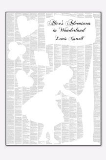 Such a clever idea and one of my all time favourite books... someone please buy me! Spineless Classics Alice In Wonderland