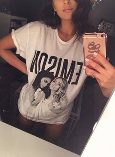 Shay and her Emison shirt