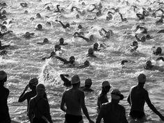 Triathlon starting  yep, I remember this.................s