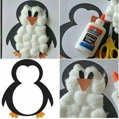 Winter Crafts For Kids Kids Crafts, Winter Crafts For Kids, Toddler Crafts, Art For Kids, Winter Preschool Crafts, Christmas Crafts For Toddlers, Christmas Activities, Craft Activities, January Crafts