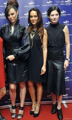 Melissa Mars, Karine Lima et Delphine Chanéac à la cérémonie de clôture du Festival du Cinéma et...